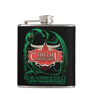 Cthulhu Absinthe flask