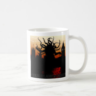 Cthulhu at large in London Coffee Mug