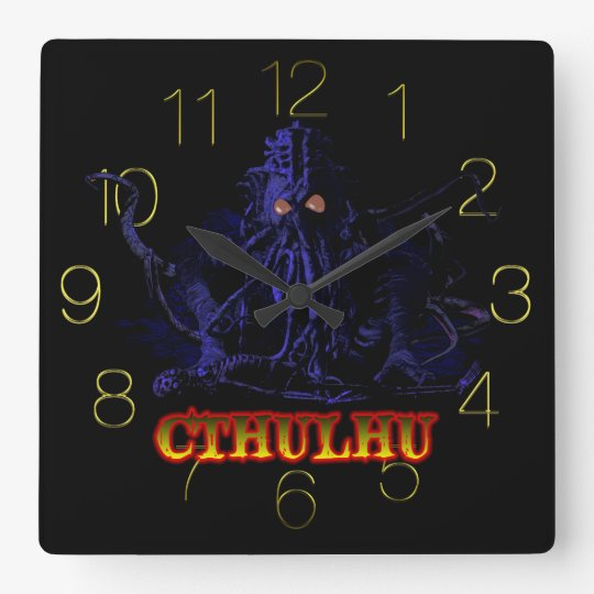 CTHULHU CLOCK DEADLY GRAPHIC STUDIO.COM
