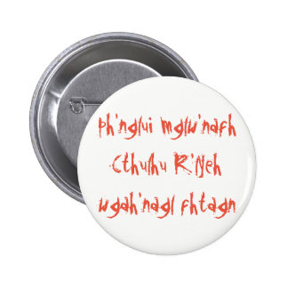Cthulhu Dreaming 2 Inch Round Button