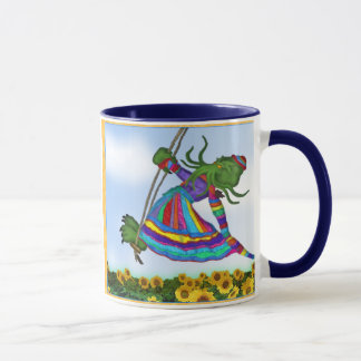 Cthulhu Dreams of an Elf Coat Mug