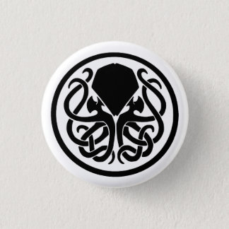 Cthulhu Emblem 1 Inch Round Button