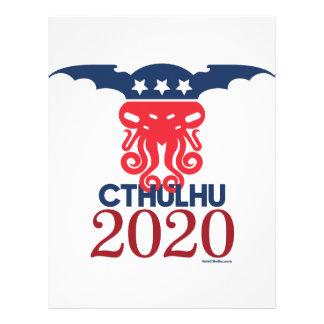 Cthulhu for President 2020 Letterhead