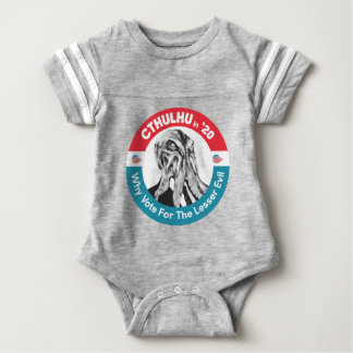 Cthulhu for President in '20 Baby Bodysuit