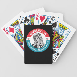 Cthulhu for President in '20 Bicycle Playing Cards