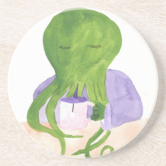 Cthulhu Has A Cup Of Tea Coaster