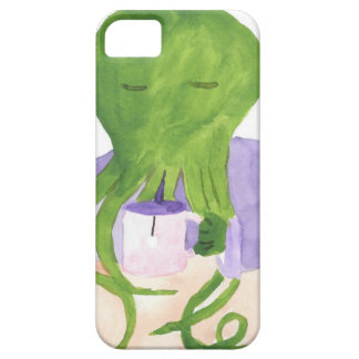 Cthulhu Has A Cup Of Tea iPhone 5 Case