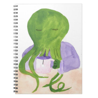 Cthulhu Has A Cup Of Tea Note Book