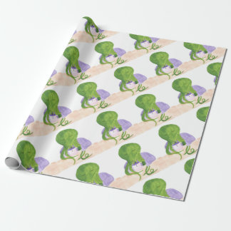 Cthulhu Has A Cup Of Tea Wrapping Paper