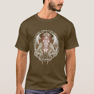 Cthulhu is Waiting (and Dreaming) No.3 Steampunk T-Shirt