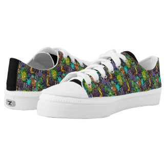 Cthulhu Lovecraft Mythos Chibi Bestiary Low-Top Sneakers