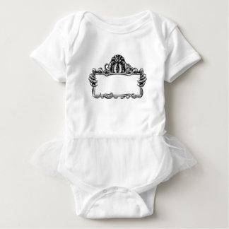 Cthulhu Monster Vintage Sign Baby Bodysuit
