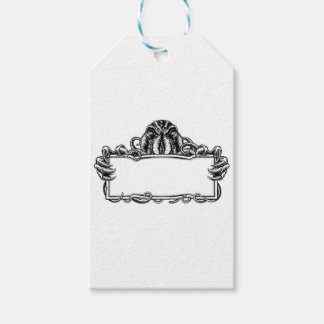 Cthulhu Monster Vintage Sign Gift Tags