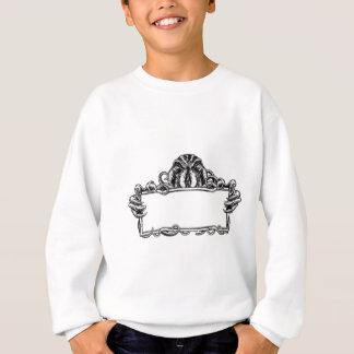 Cthulhu Monster Vintage Sign Sweatshirt