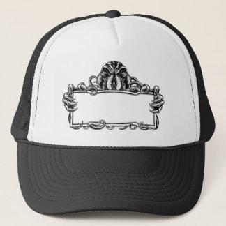 Cthulhu Monster Vintage Sign Trucker Hat