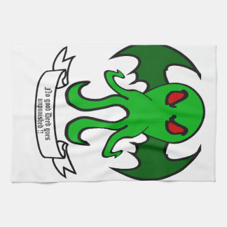 Cthulhu - No good deed goes unpunished Kitchen Towels