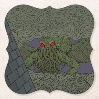 Cthulhu Paper Coaster