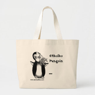 Cthulhu Penguin: .... Tote Bag