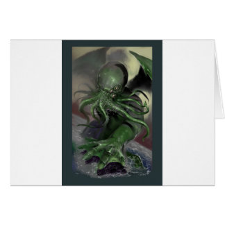 Cthulhu Rising H.P Lovecraft inspired horror rpg Card
