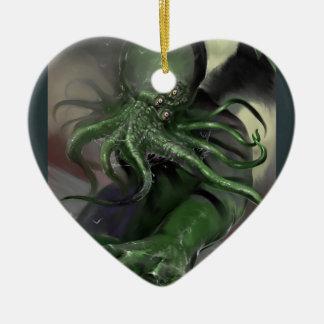 Cthulhu Rising H.P Lovecraft inspired horror rpg Ceramic Ornament