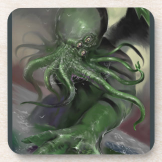 Cthulhu Rising H.P Lovecraft inspired horror rpg Coaster