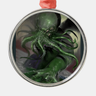 Cthulhu Rising H.P Lovecraft inspired horror rpg Metal Ornament