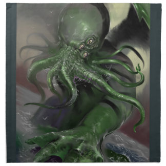 Cthulhu Rising H.P Lovecraft inspired horror rpg Napkin