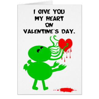Cthulhu Valentine Cards