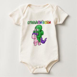 CthulhUnicorn - Word games - François City Baby Bodysuit