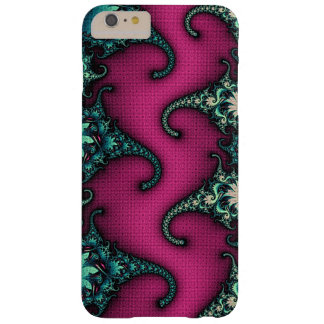 """Cthulu"" custom fractal art Barely There iPhone 6 Plus Case"