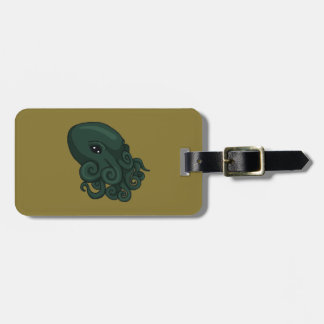 Cthulu Logo Luggage Tag