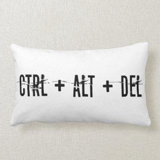 Ctrl Alt Del Pillow