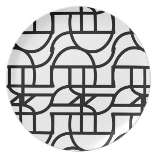 Ctrl (+black) pillow party plates