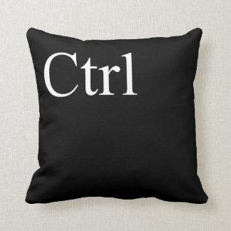 ctrl button throw pillow