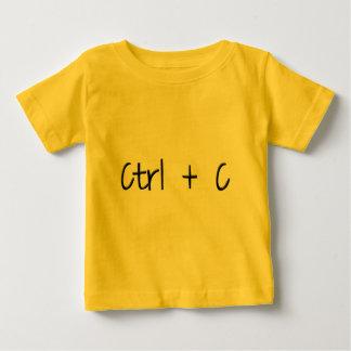 Ctrl + C Baby T-Shirt