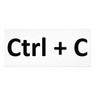 Ctrl C Ctrl V Copy Paste Twins Custom Rack Card