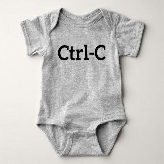 Ctrl-C Twins Baby Bodysuit