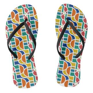 Ctrl in colors / Custom Adult, Slim Straps Flip Flops