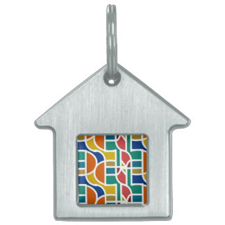 Ctrl in colors / House Pet Tag