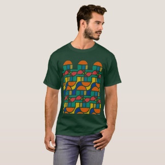 Ctrl in colors / Men's Basic Dark T-Shirt