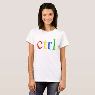 Ctrl Logo For Coder Engineer Computer T-Shirt
