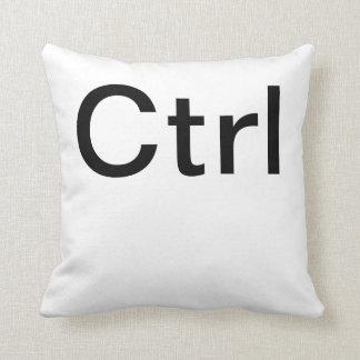 Ctrl Throw Pillow