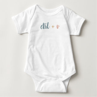 Ctrl + V: Baby Family Cotton Bodysuit