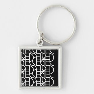 Ctrl (+w) / Small (3.5 cm) Premium Square Key Ring