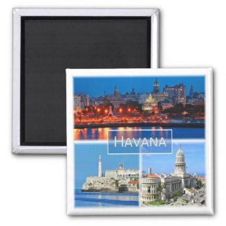 CU * Cuba - Havana Magnet
