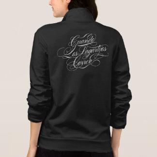 Cuando Los Lagartijos Corren Jacket (Black)