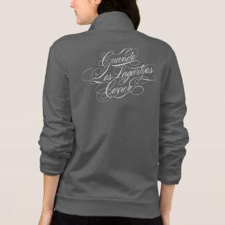 Cuando Los Lagartijos Corren Jacket (Grey)