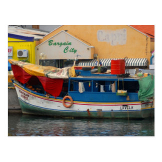 Cuaracao Water-market Postcard