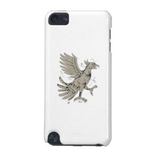 Cuauhtli Glifo Eagle Symbol Low Polygon iPod Touch (5th Generation) Case