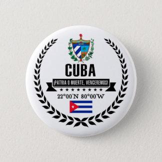 Cuba 2 Inch Round Button
